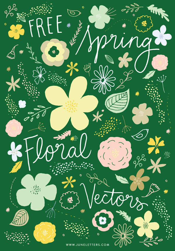 Free Vector Florals Download