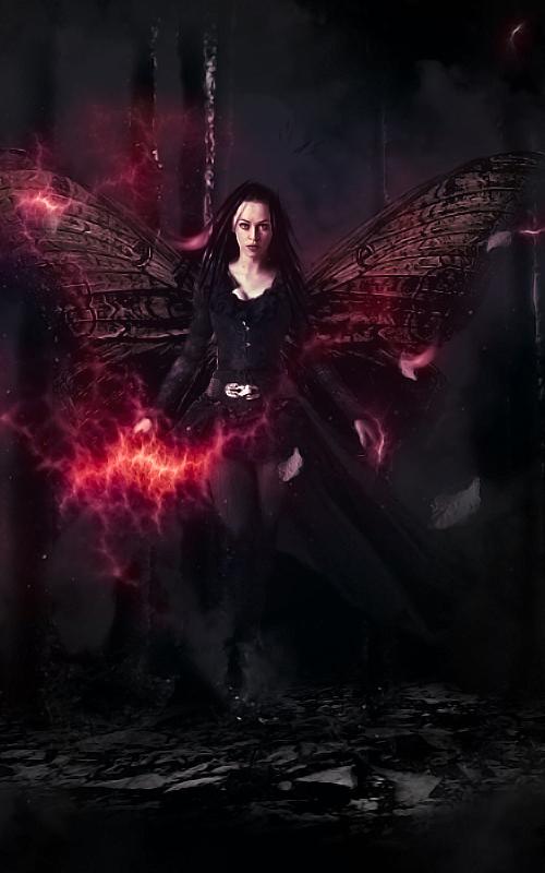 Create Dark Witch Fantasy Scene in Photoshop