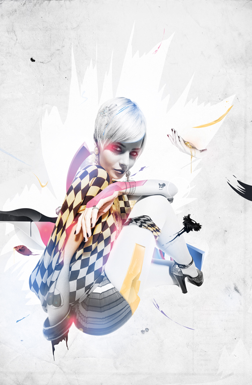 Blend a Photo with Vectors and Smudges to Create a Bold Illustration in Photoshop