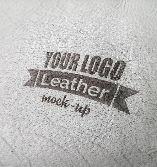 Photorealistic Leather Mock-up
