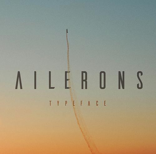 Ailerons Free Font