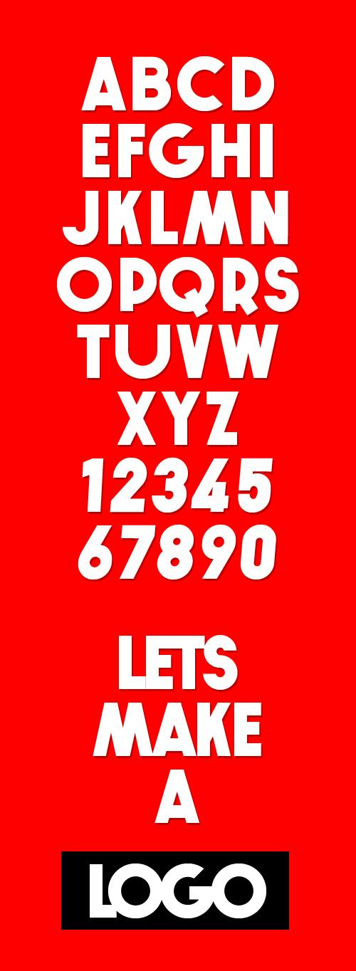 Bomb Font Letters