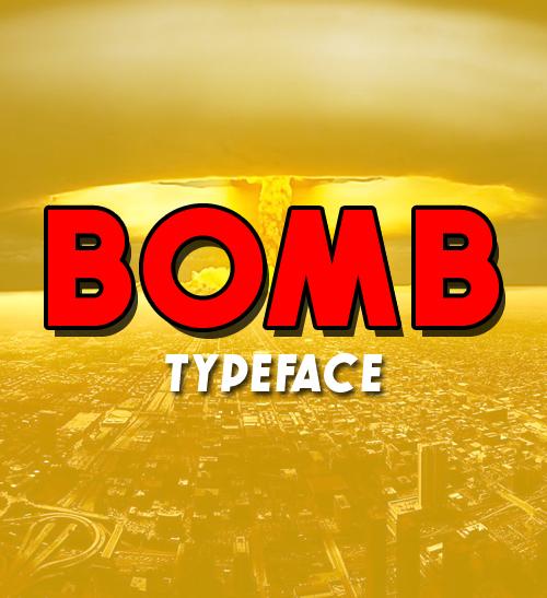Bomb Free Font