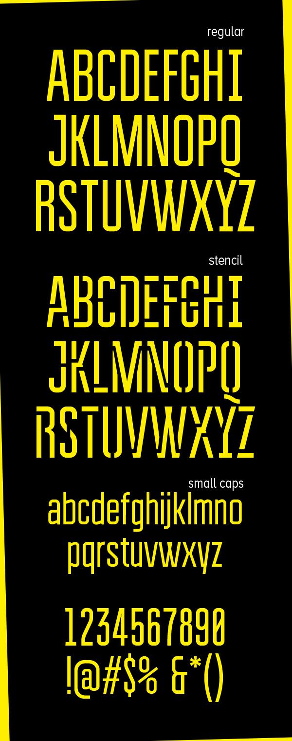 Bravo! Font Letters