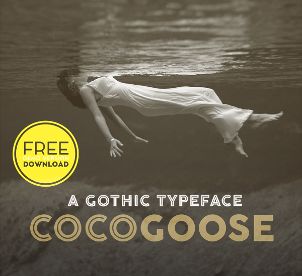 Cocogoose Free Font for Designers