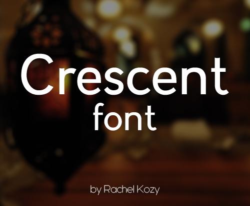 Crescent Free Font