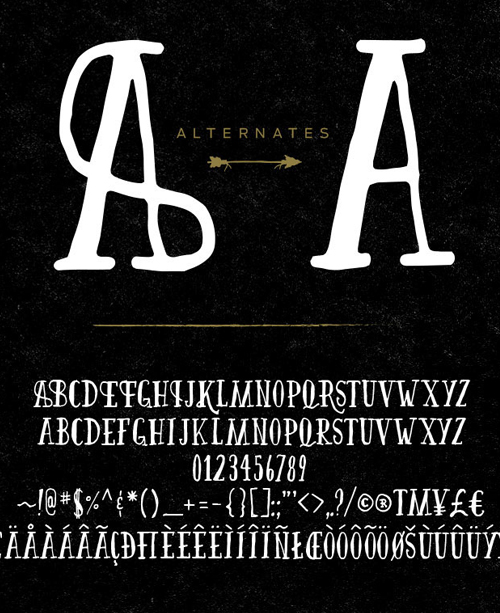 Firefly Font Letters