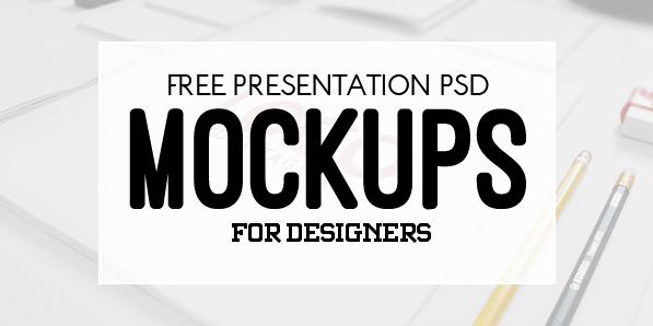 New Free Photoshop PSD Mockup Templates (20 MockUps)