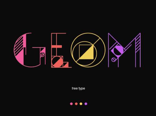 GEOM Free Font