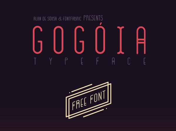 Gogoia Free Font for Designers