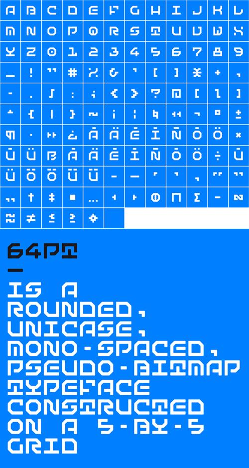 Matematica Font Letters