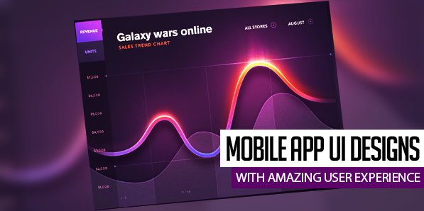 32 Inspiring Mobile App UI Designs with Amazing User Experience