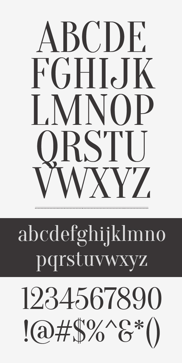 Oranienbaum Font Letters