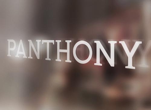 Panthony Free Font