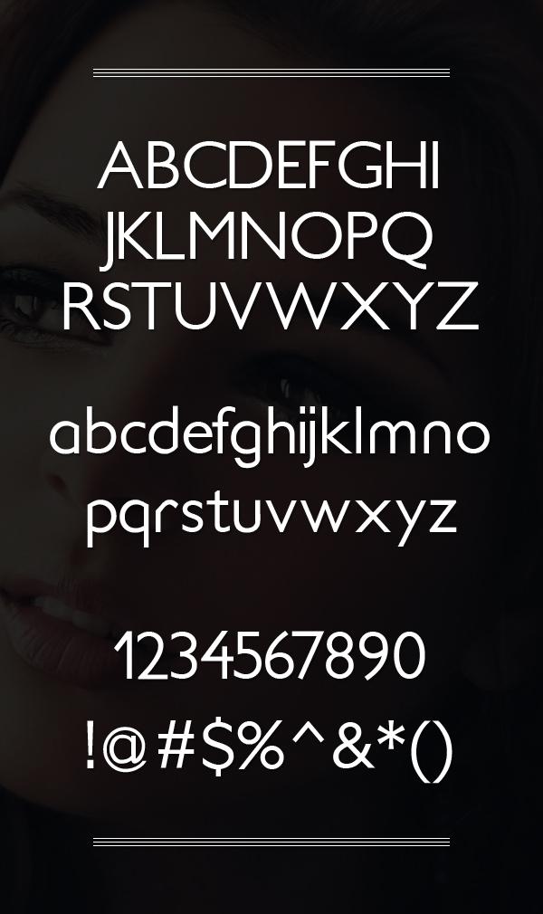 Soft Elegance Font Letters