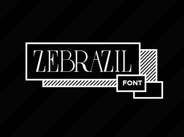 Zebrazil Free Font for Designers
