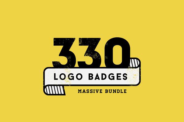 330 creative logo or badge templates