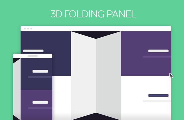 3D Folding Panel