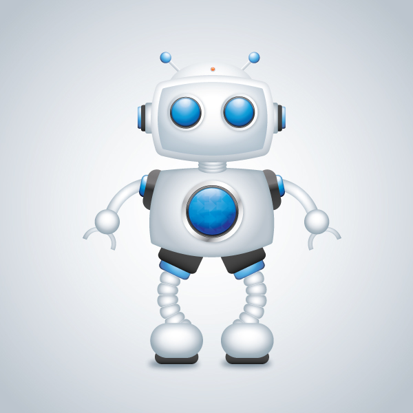Create a Robot Character in Illustrator Tutorial