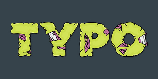 Create a Zombie Style Typo using the Blob Brush in Illustrator