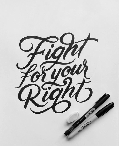 Fight For Your Right by Ximena Jiménez
