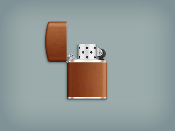 Create a Zippo Lighter in Adobe Photoshop
