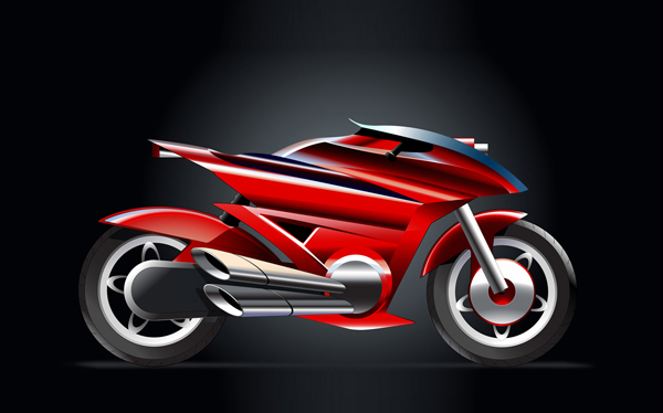 How to create Vector Racing Bike in illustrator