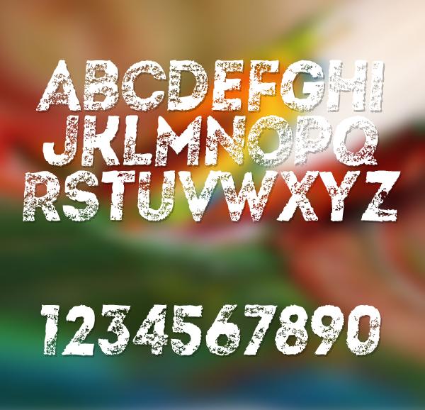 Artistico fonts