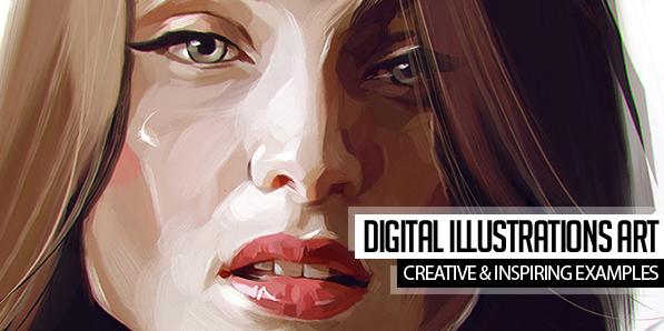 27 Creative Digital Illustrations Art Examples for Inspiration
