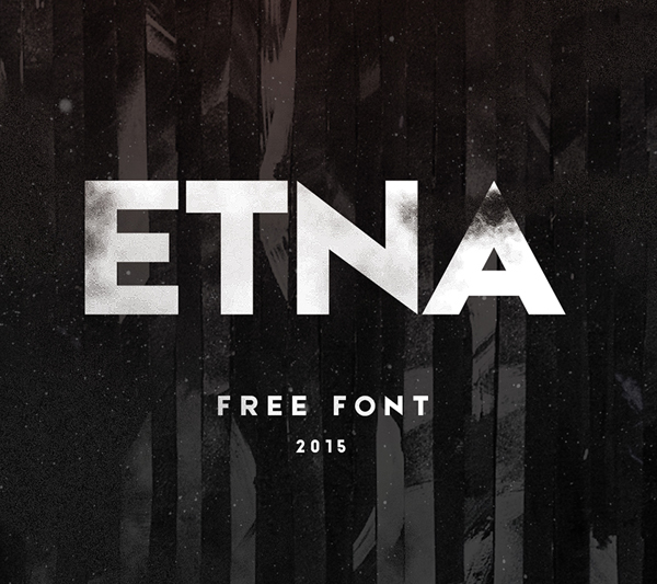 ETNA  free fonts
