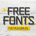 Post thumbnail of 16 New Amazing Free Fonts for Designers