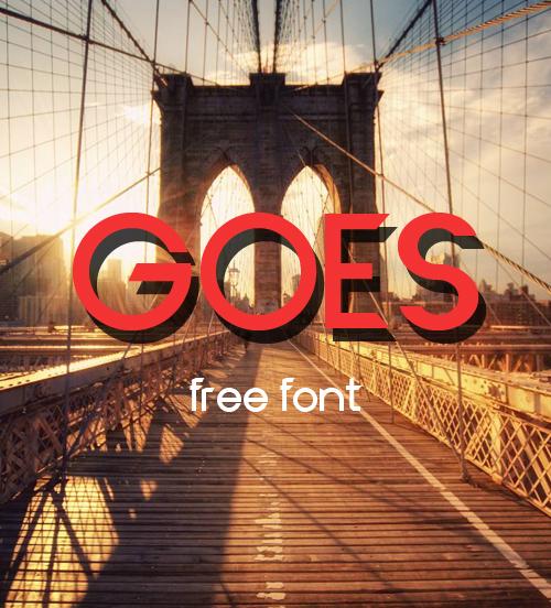 Goeo Free Font