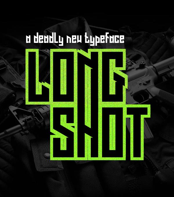 Long Shot free fonts
