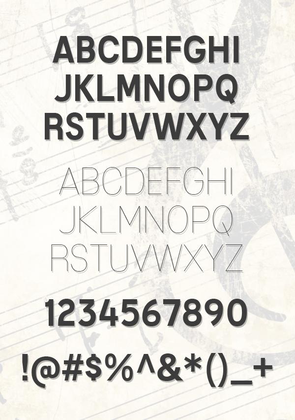 Mixolydian Titling fonts