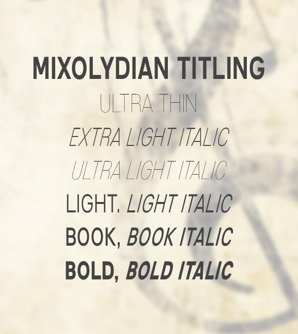 Mixolydian Titling free fonts