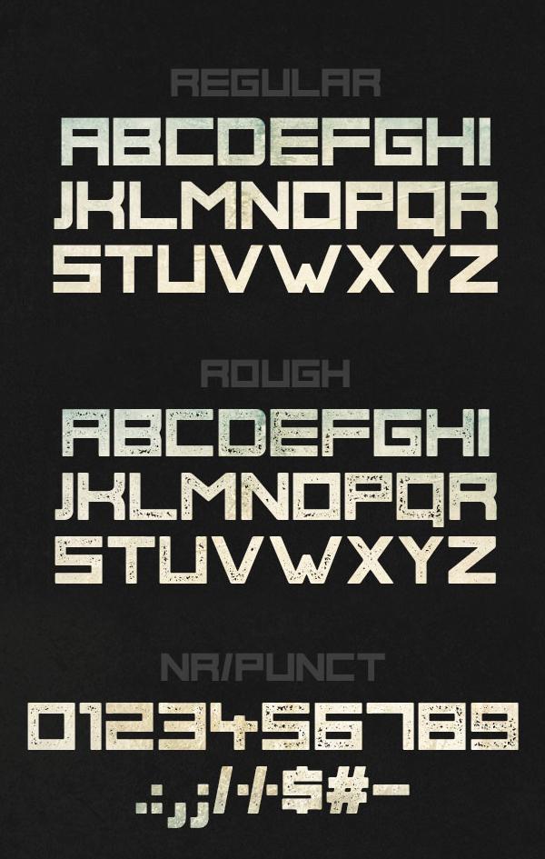 Phage fonts