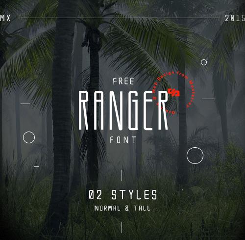 Ranger Free Font