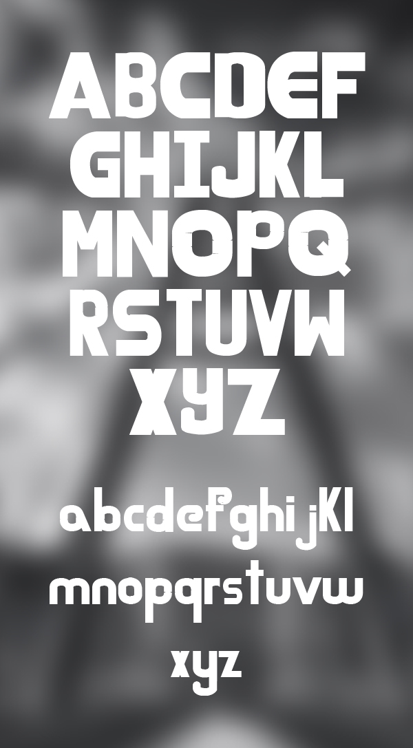 Tinov fonts and letters