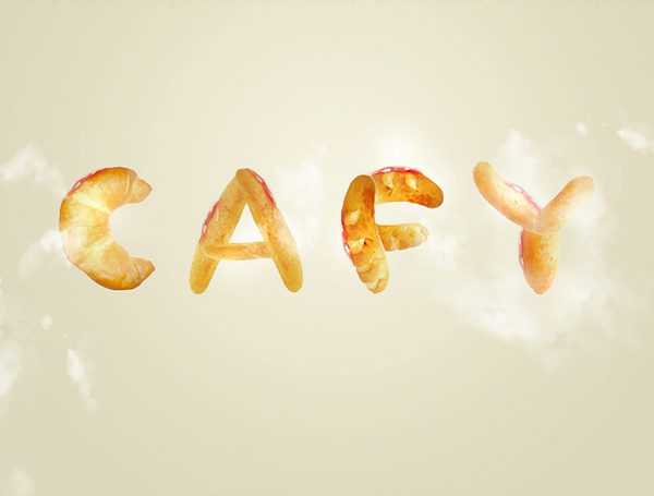 Create Bread Typography in Photoshop