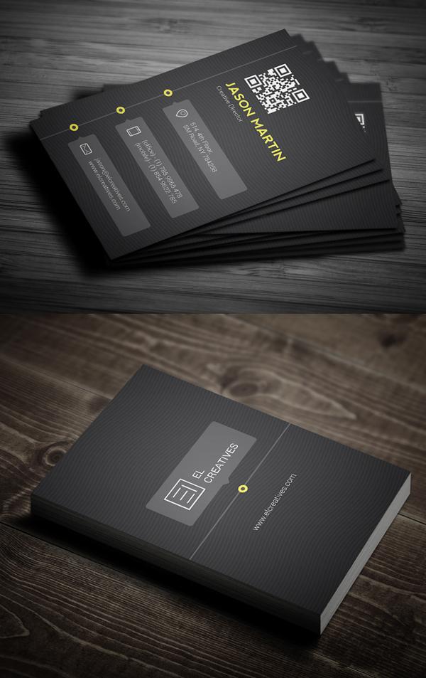 Creative Timeline Business Card