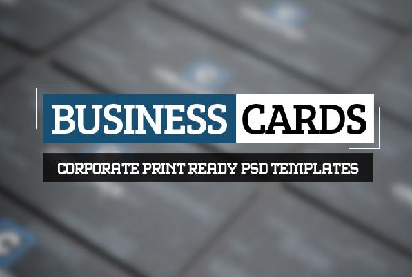 Modern Business Card PSD Templates