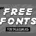 Post thumbnail of 17 New Amazing Free Fonts for Designers