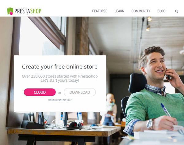 PrestaShop Free Online Store