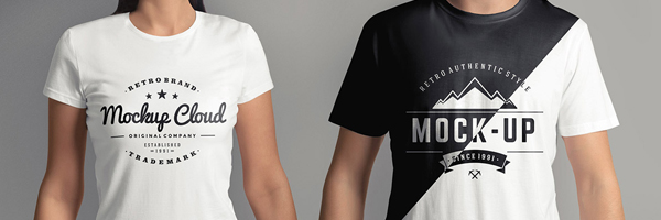 13 absolutely Free PSD T-Shirt Mock-ups