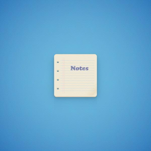 Create a Notes Icon in Adobe Illustrator