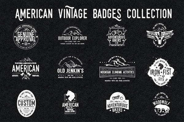 Hand Drawn Vintage Logo Templates