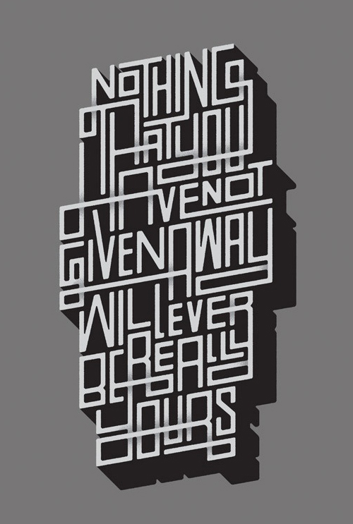 Remarkable Lettering and Typography Designs for Inspiration - 19