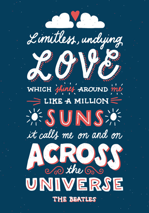 Typography Posters: 30 Motivational and Inspiring Quotes - 6