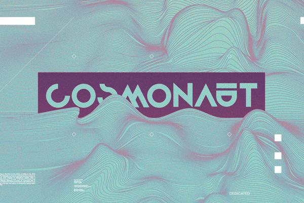 Cosmonaut free fonts