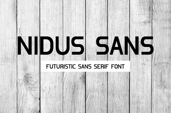 Nidus Sans free fonts